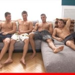 Wild Studs in Wild Orgy Plus Cumshower