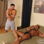 CockSureMen – Manly Studs Kyle King & Jake Deckard Flip-Flop Fucking
