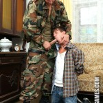 GayWarGames – Aggressive Horny Soldier Derek Breaks In Pastor's Son