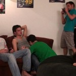 Fraternity X – Aggressive Gangbang Boning Of Eager Cocksucker